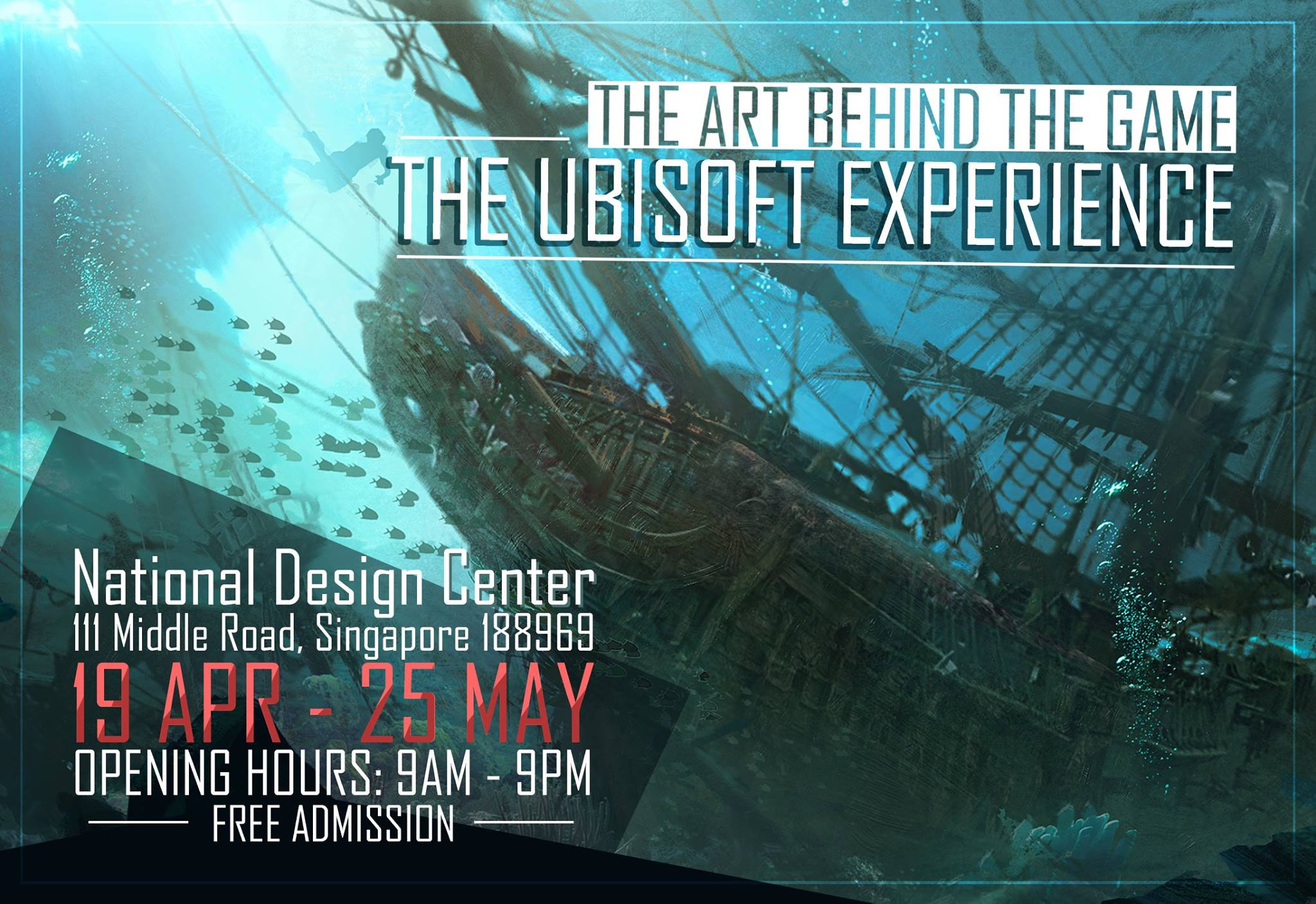 UBISOFT, exposition Behind the scene, Singapour 2017