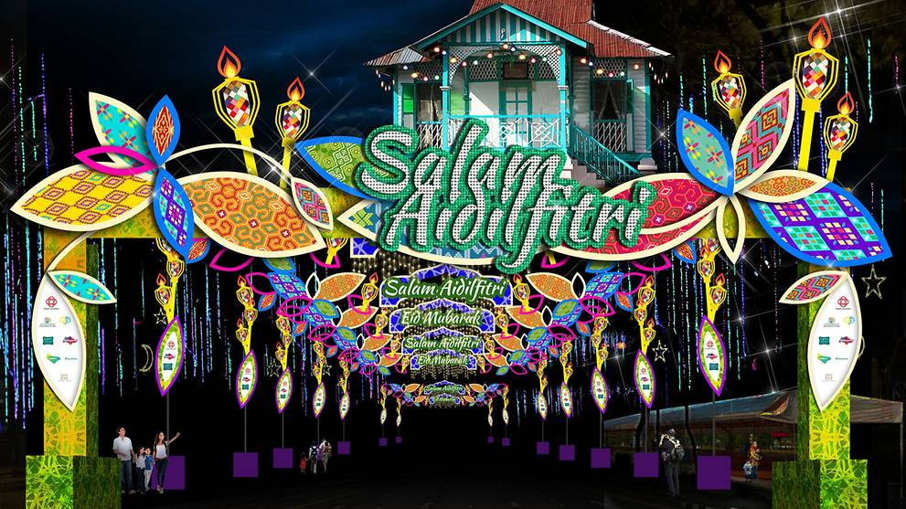 Hari Raya light up 2017