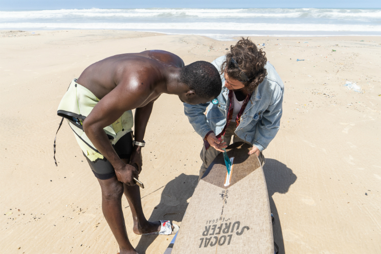 Local Surfer Project Book Senegal Dakar Surf