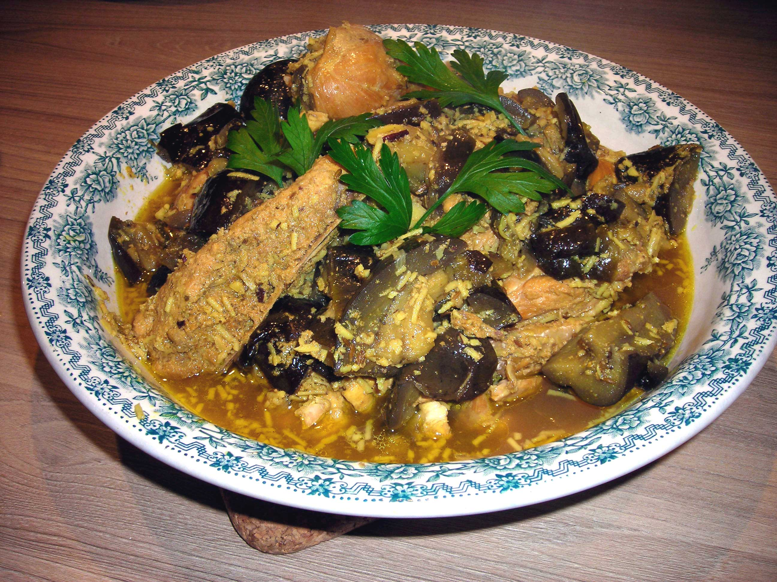 curry chicken poulet recette madras
