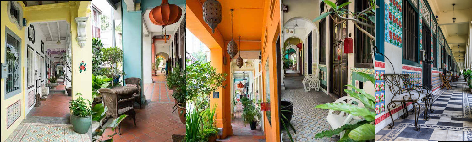 Five Foot Way Shophouses Singapour