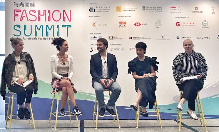 fashion summit panel discussion economic circulaire