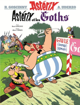 All over the world in 10 comics with Asterix, the nice traveler