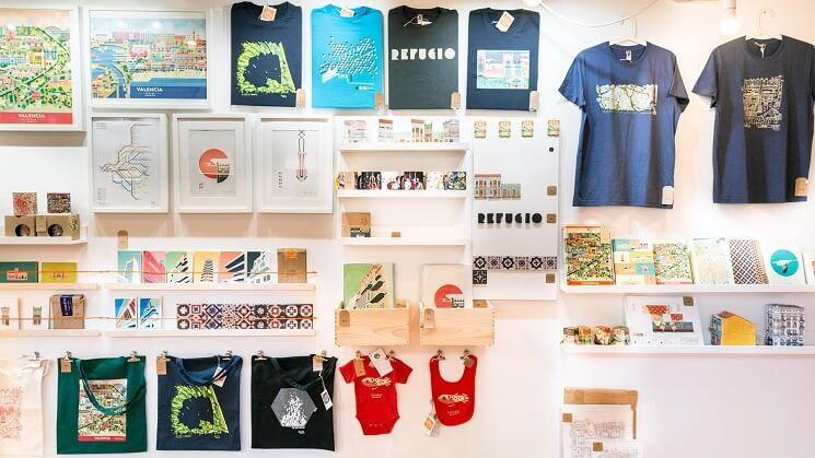 La collection de la boutique Atypical Valencia