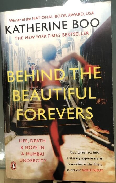Livre Inde Behind the beautiful forevers Katherine Boo