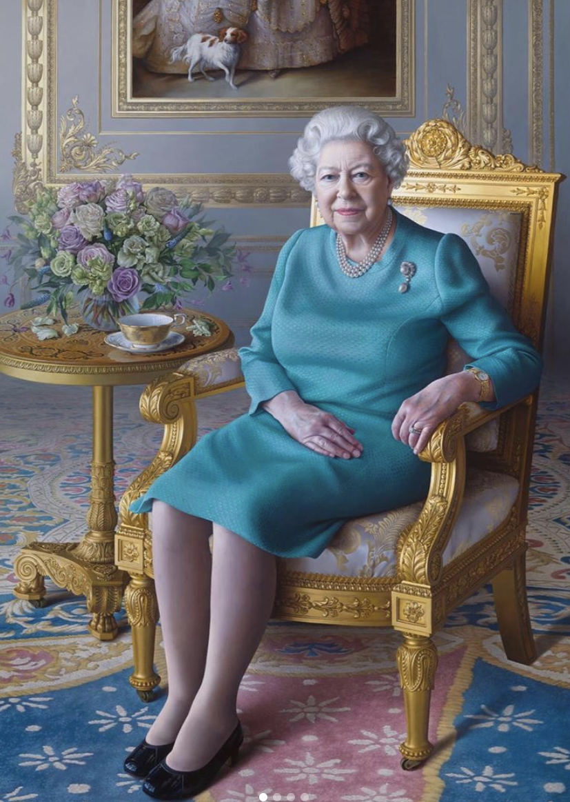 royal elizabeth portrait reine