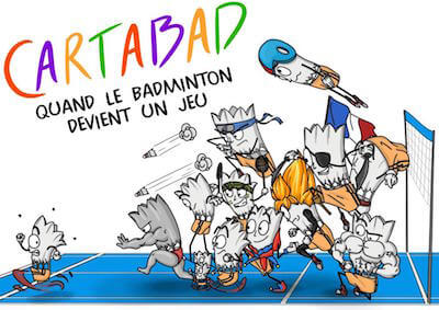 jeu badminton Cartabad indonesie