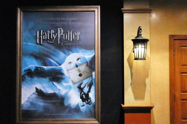 Exposicion Harry Potter Valencia