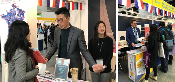 Campus France au salon de l'éducation Hong Kong