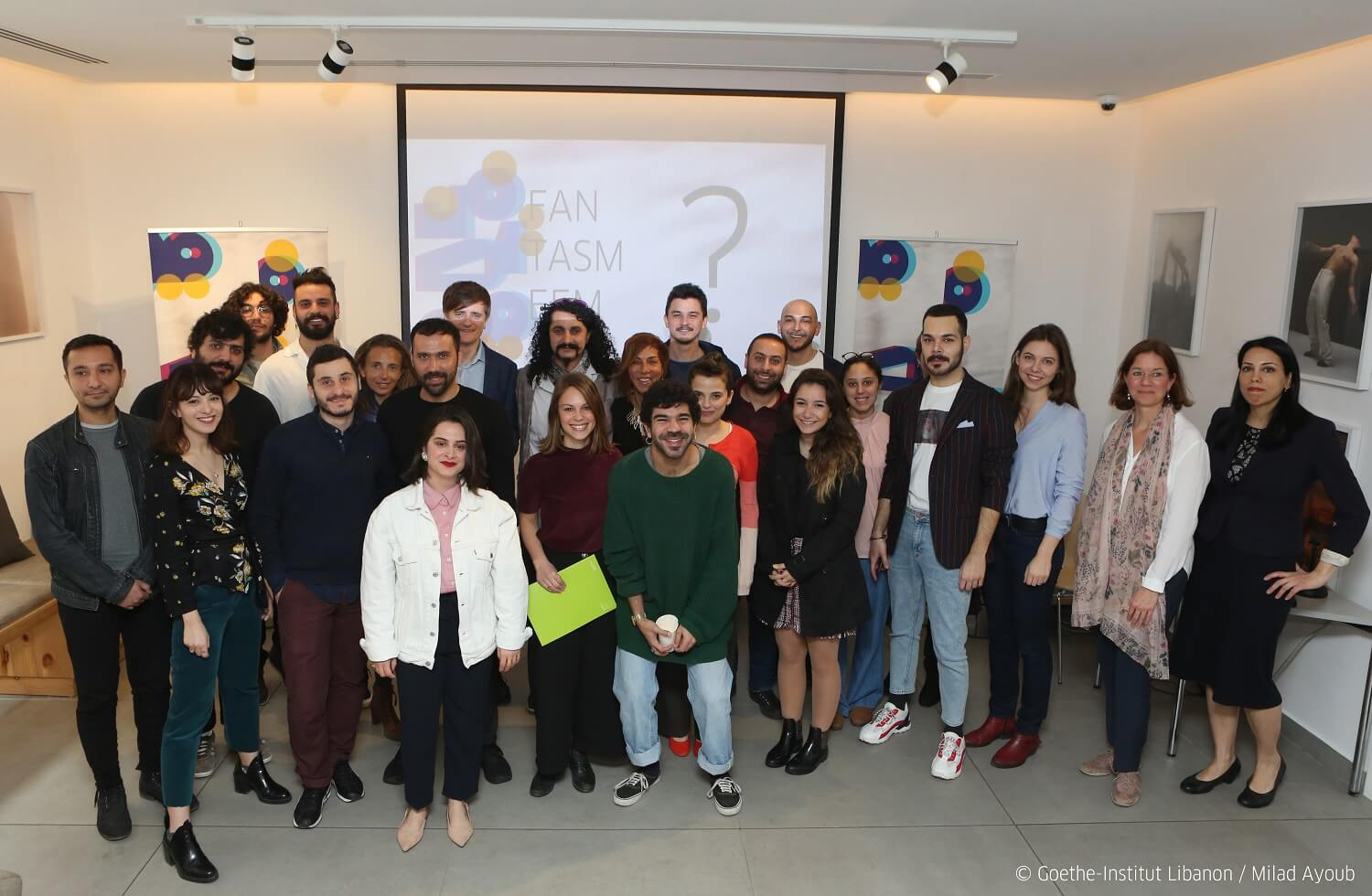 FANTASMEEM Community including Alumni, Participants, Mentors and Trainers