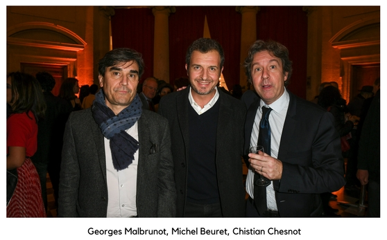 Georges Malbrunot, Michel Beuret, Chistian Chesnot.jpg
