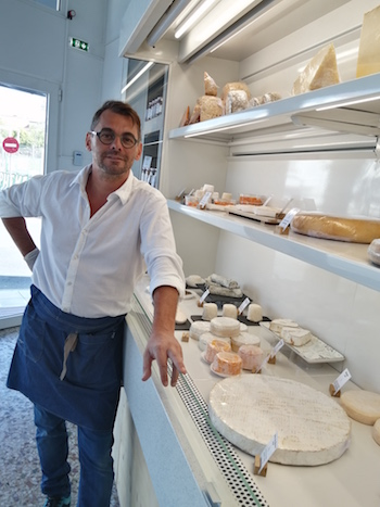 cyril from paris fromagerie grèce