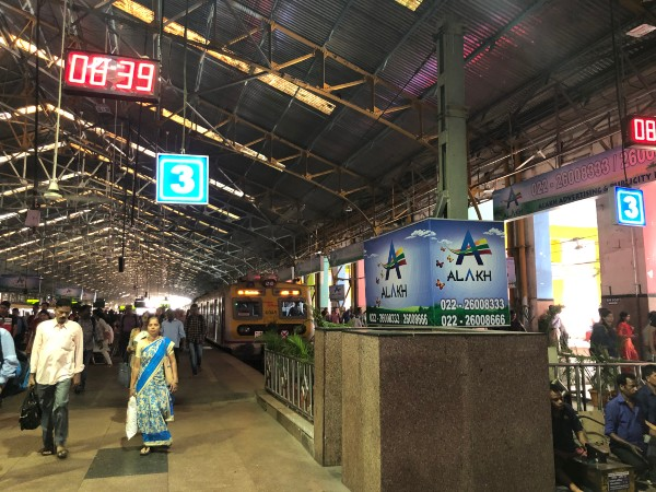 Mumbai Bombay train Churchgate