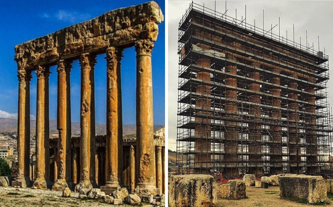 baalbeck cella tourisme liban