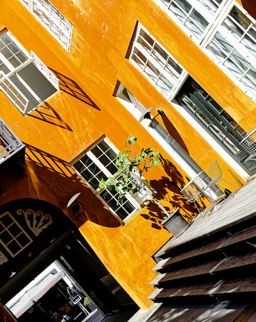 Martin Dedron photographie Copenhague orange
