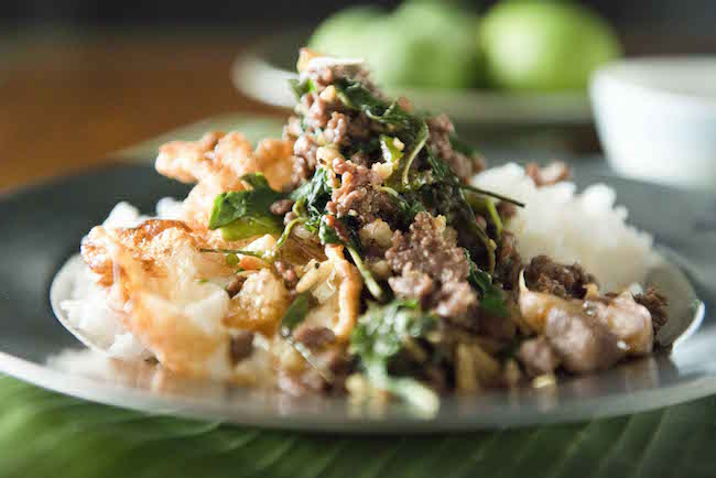 Long Chim- Minced Beef