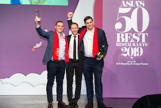 Odette, Julien Royer, Asia's 50 Best Restaurants, Singapour