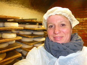 Sylvie from paris grèce fromagerie