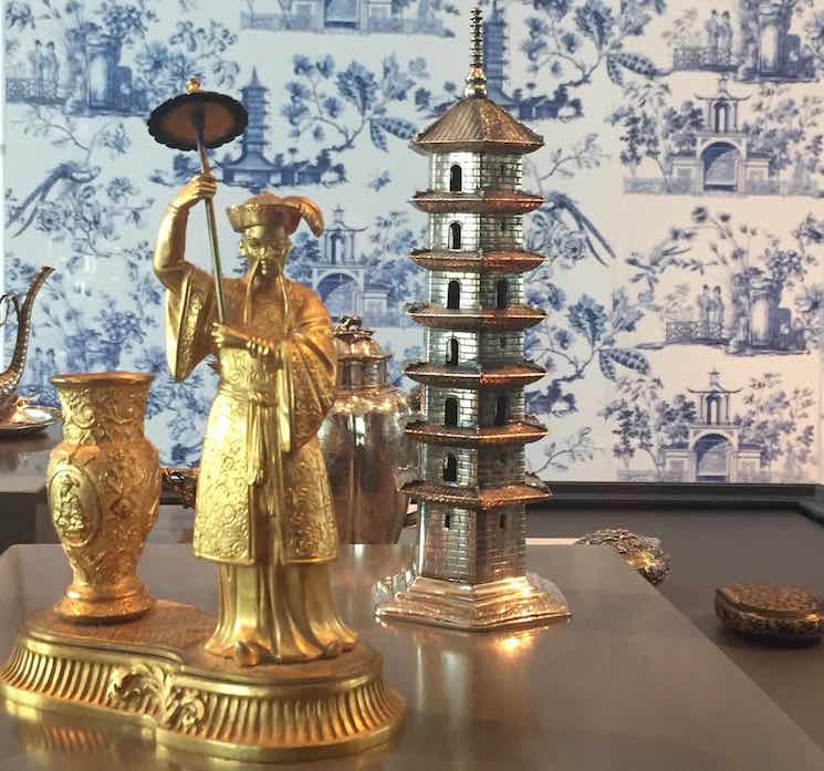 Silver Age chinoiserie argent exposition