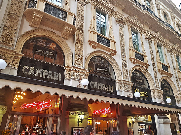 bar campari milan