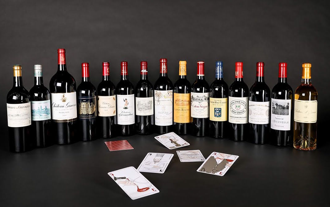 carte sur table vin de bordeaux a hong kong
