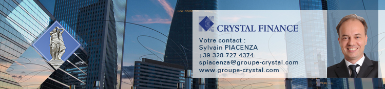 Crystal finance italie sylvain piacenza