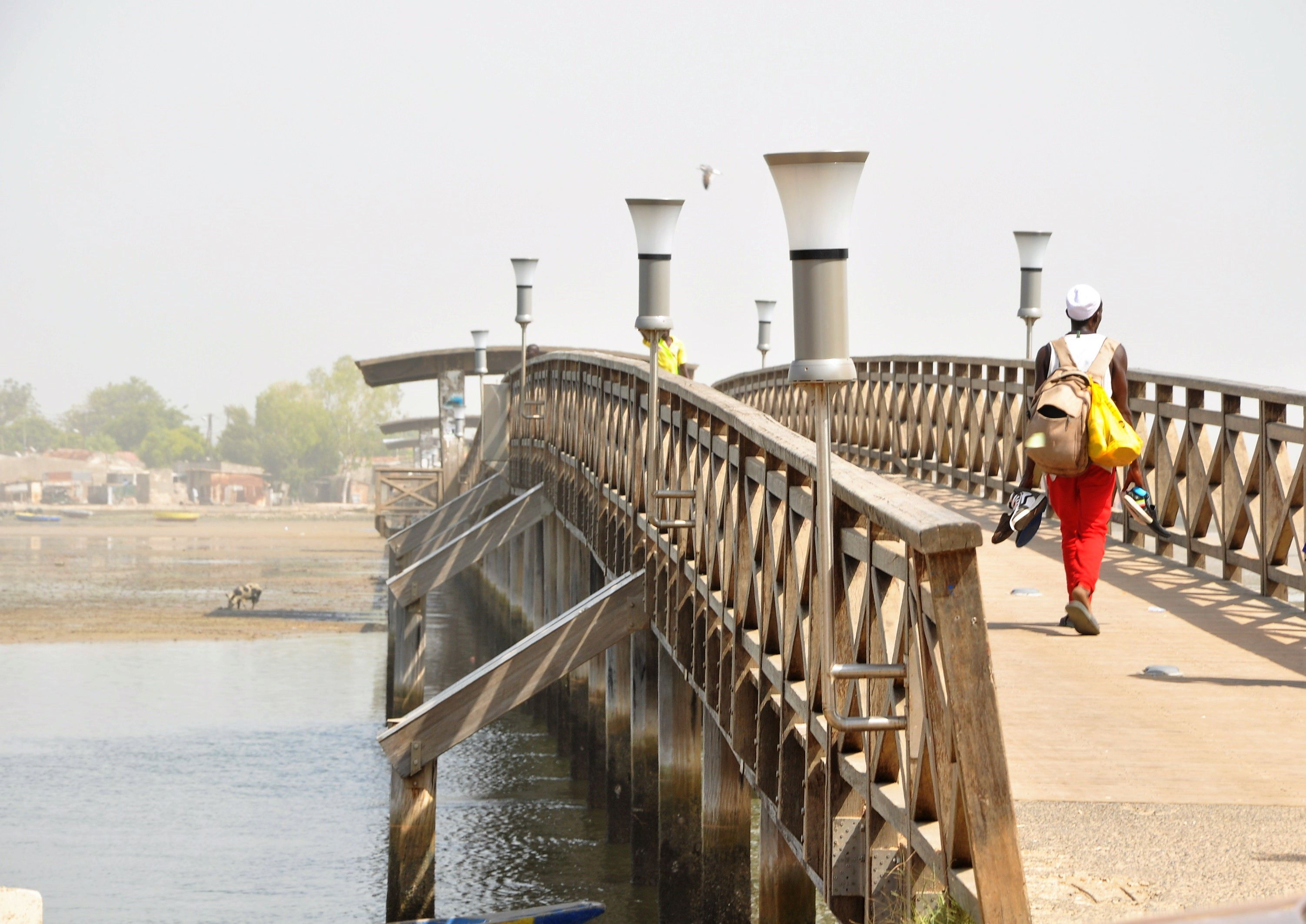 pont joal fadiouth senegal tourisme coquillages