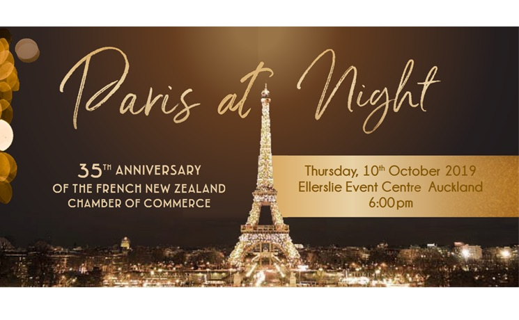 Gala dinner NZ french chamber of commerce