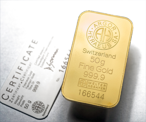 Gold Bar Lingot investir Bunker Group