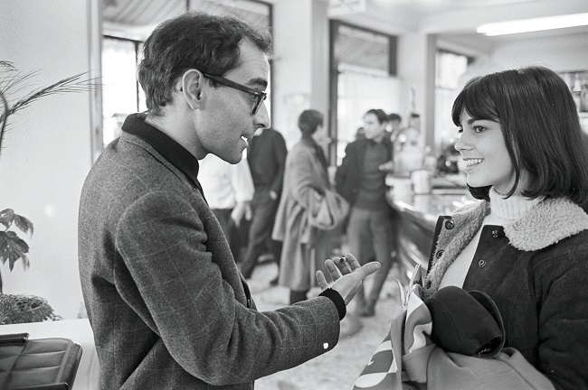 Chantal Goya et Jean-Luc Godard / Photo DR