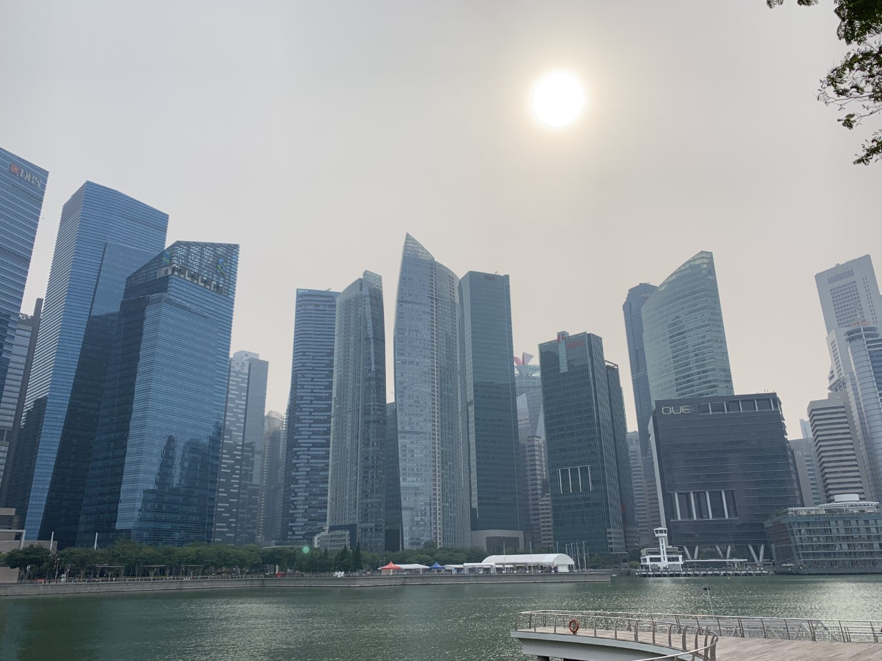 haze singapour pollution