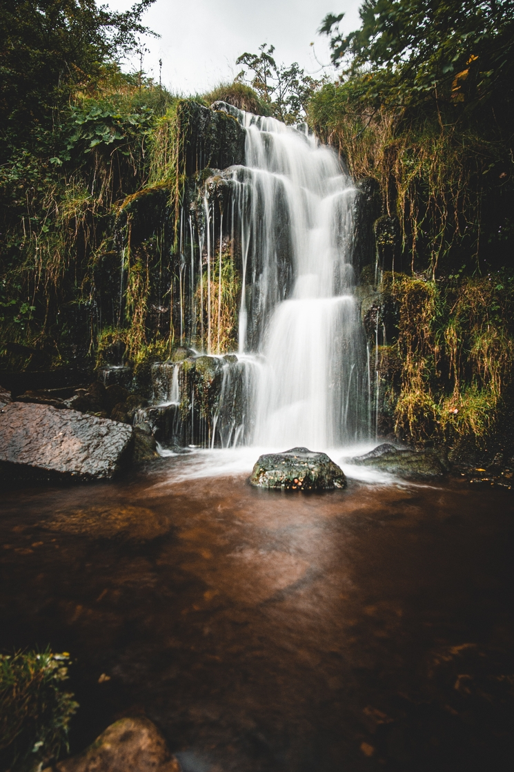 A waterfall in the Yorkshire Dales National Park