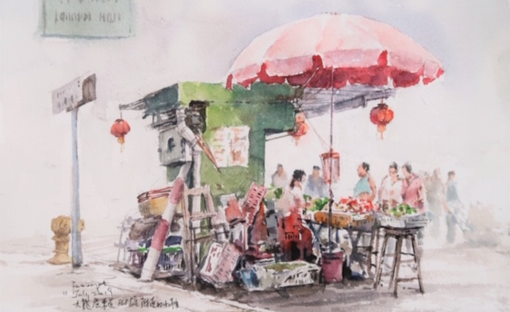 Dessins Hong Kong