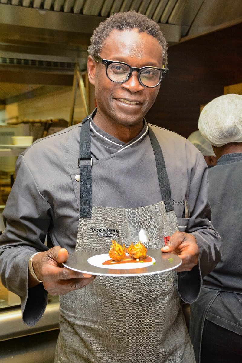 pierre thiam chef signature pullman dakar teranga
