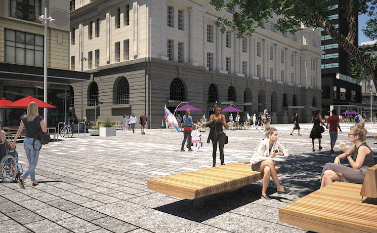 Lower Queen street design