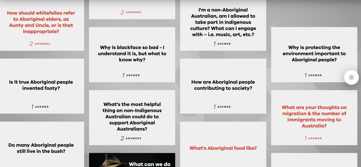 aborigene indigene deadly questions melbour victoria