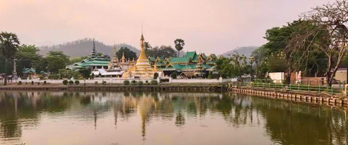 Temple bouddhiste Mae Hong Son