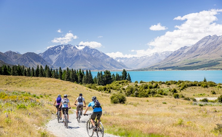 Alps 2 Ocean Cycle Trail Mount Cook