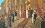 Proclamation du « Grand Liban » par le General Gouraud le 1 septembre 1920