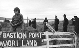 Archives Bastion Point Maori protesters