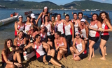 So French equipe Dragon Boat Hong Kong accueil couverture
