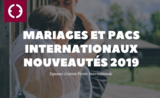 mariages pacs internationaux