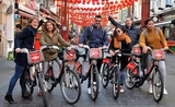 No Diet Club Food Tour Londres recrute guides vélo visite street food