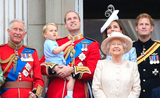 Prince George voyage couronne angleterre