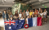 French students Queensland Museum