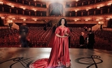 Angela Gheorghiu at Bolshoi Theater (Angela Gheorghiu on facebook)