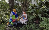 Niki de aSaint Phalle Sculpture Hong Kong French May