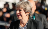 Theresa May - Arno Mikkor (Flickr) redimse compare Liverpool exploit Barcelone Brexit Londres Royaume-Uni