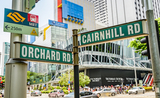 Orchard road, Rues, Noms, Singapour, Histoires