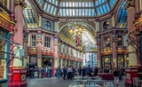 Leadenhall Market city londres harry potter marché